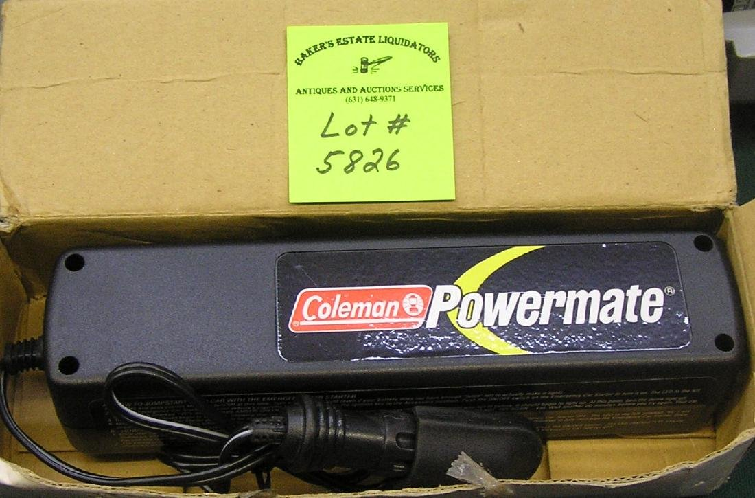 Coleman power mate charging unit