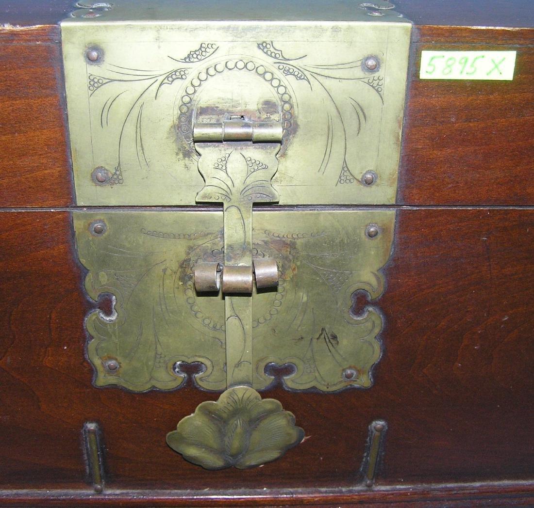 Asian Palace style valuables storage box - 2