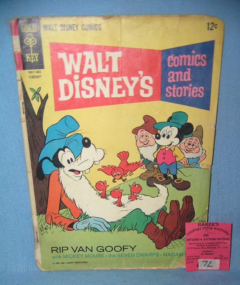 Early 12 cent Walt Disney's comics and stories comic