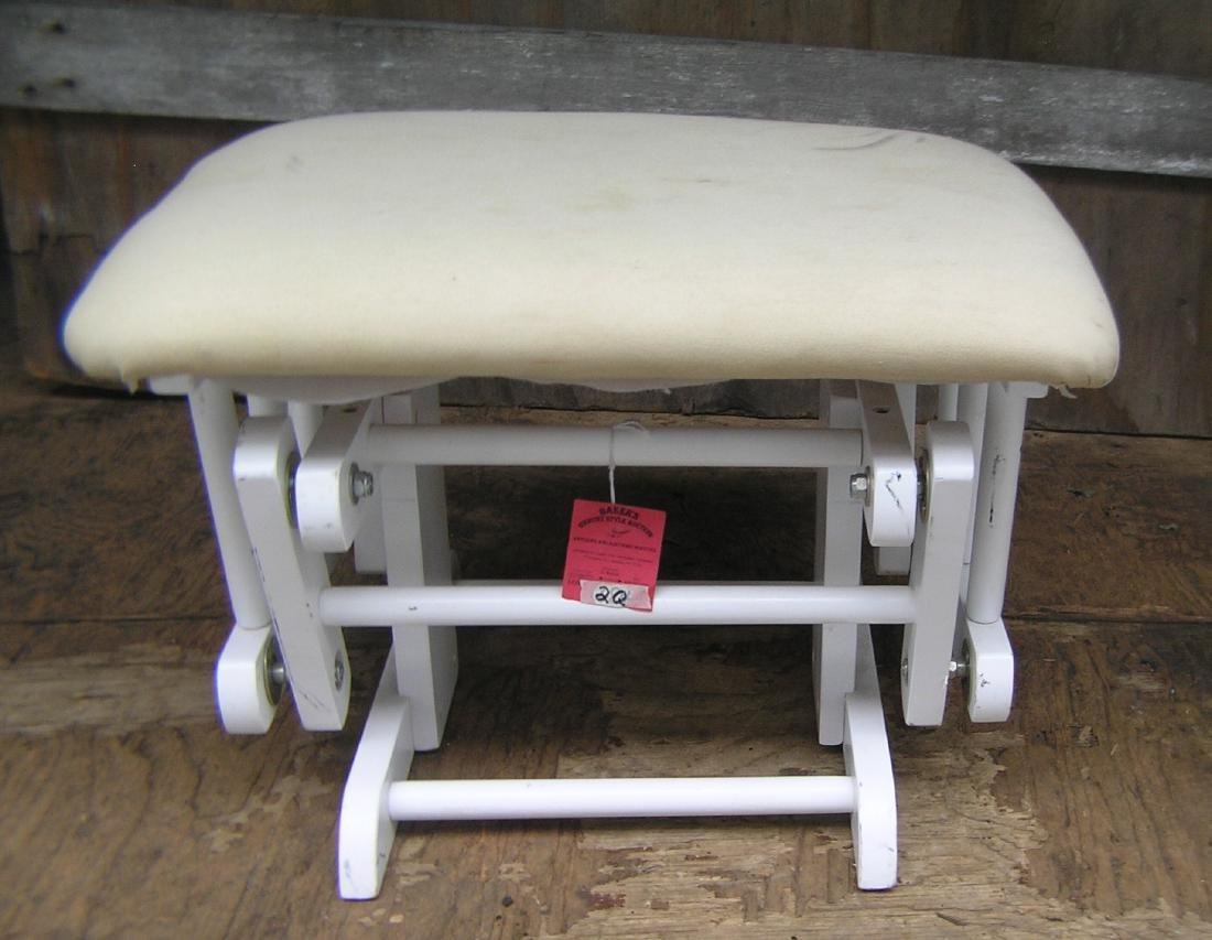 Wood and upholstered swivel bench