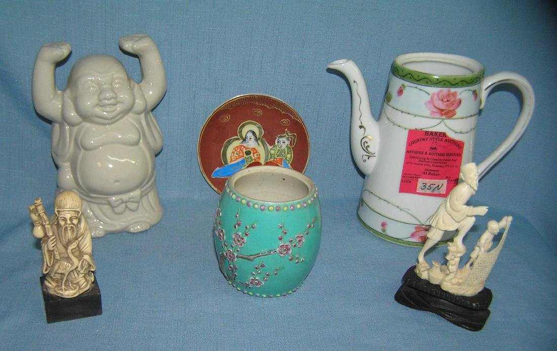 Group of Asian collectibles