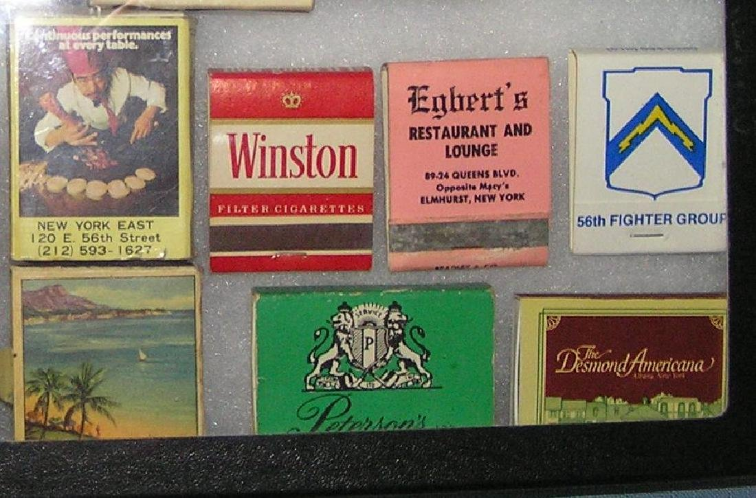 Collection of advertising match books and boxes - 2