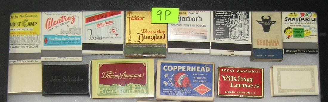 Collection of advertising match books and boxes - 3