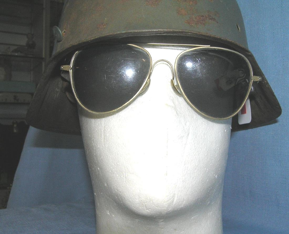 Pair of signed Foster Grant aviator sunglasses