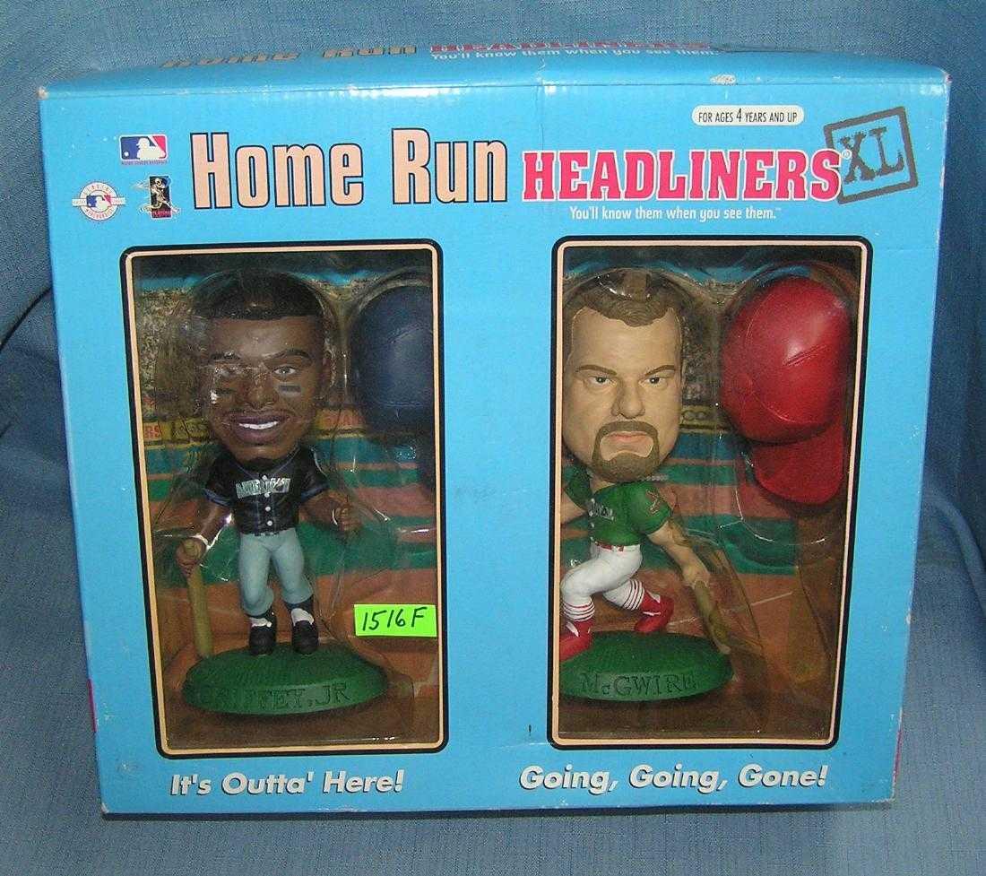 ba4e27c5db K. Griffey Jr. and M. McGwire bobble head dolls