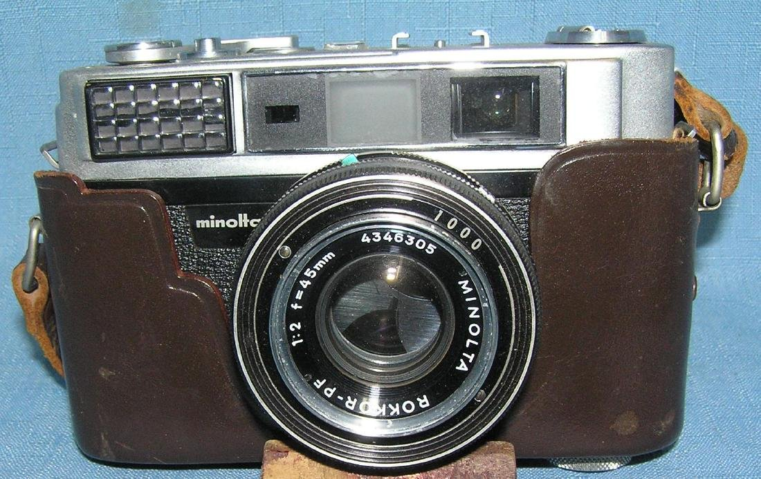 Early Minolta AL 35MM camera