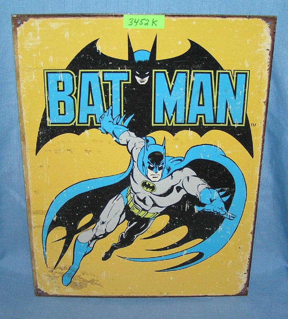 Batman litho tin sign