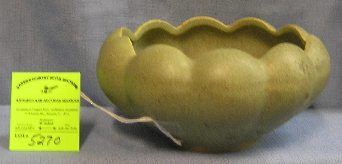 Early art pottery bowl