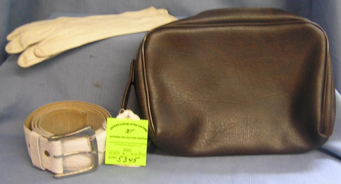 Vintage Accessories includes belt, gloves and more