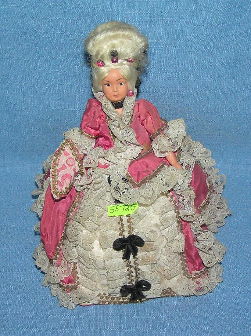Antique cloth doll with composition face