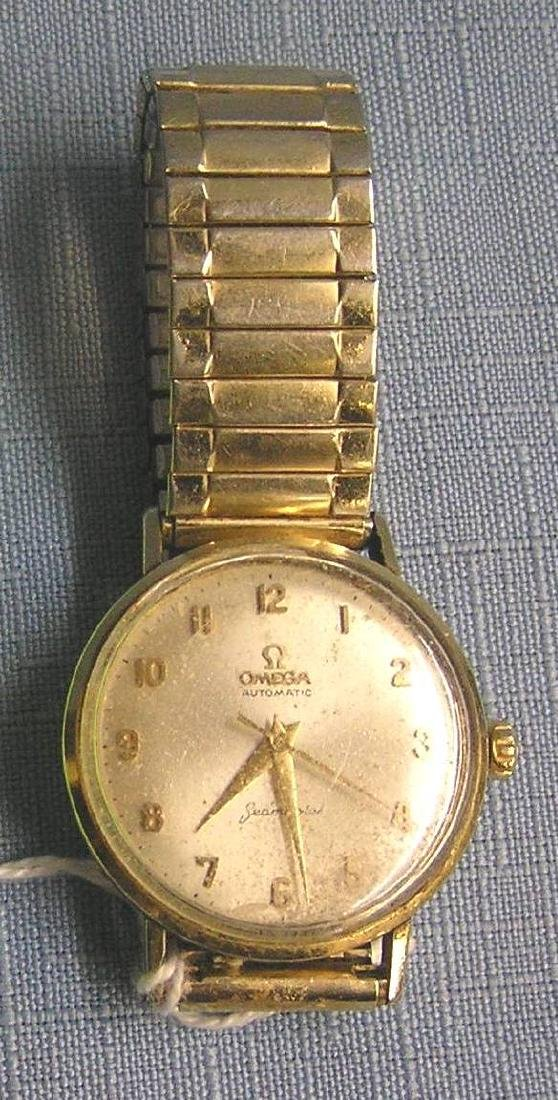 Early Omega Seamaster gentleman's wrist watch