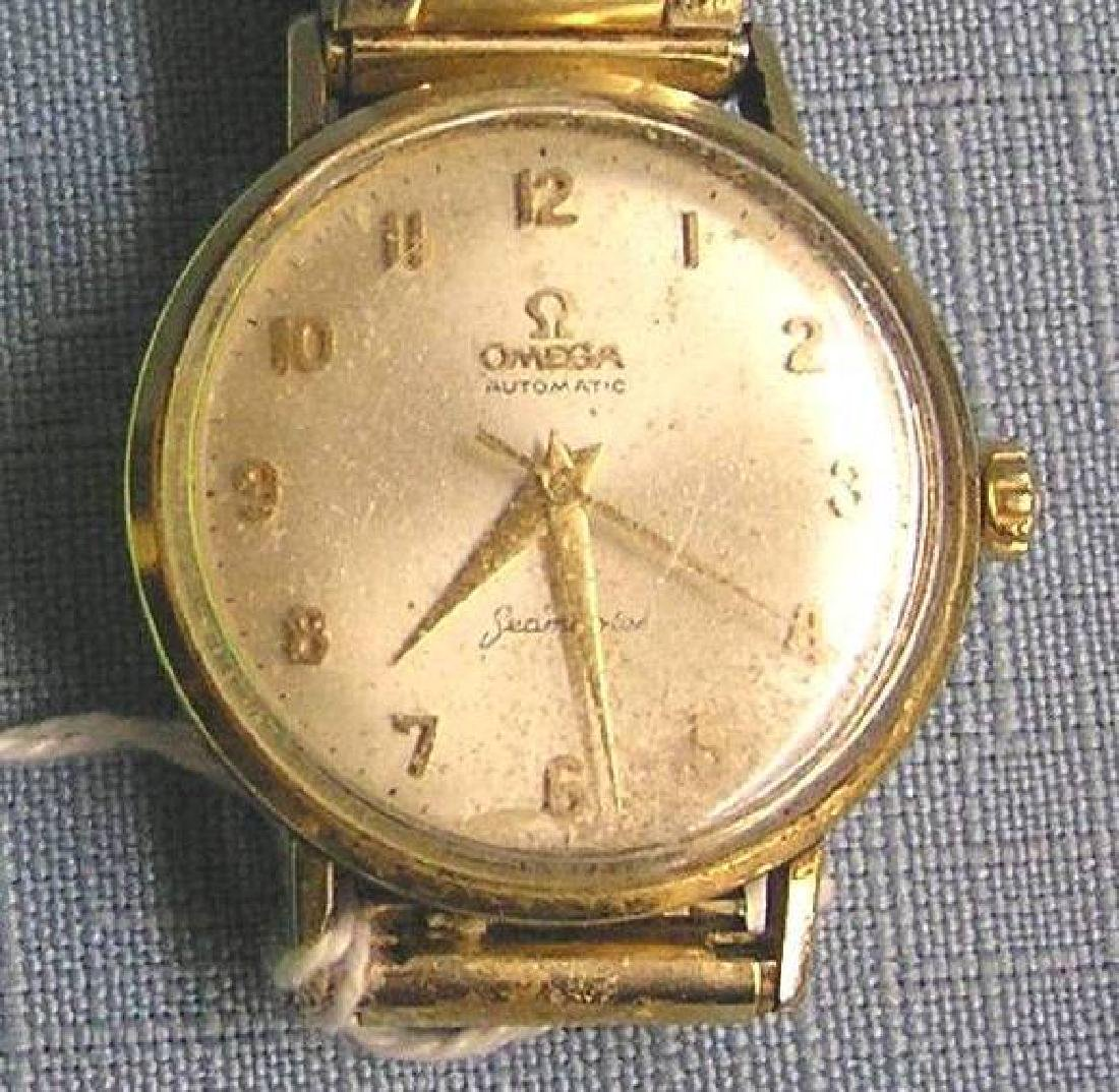 Early Omega Seamaster gentleman's wrist watch - 2