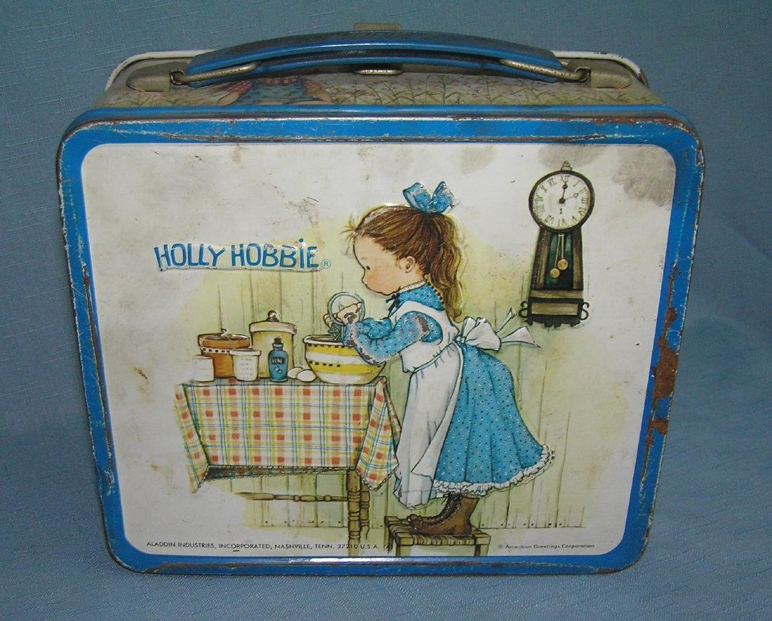 Holly Hobbie tin lunch box by Aladdin