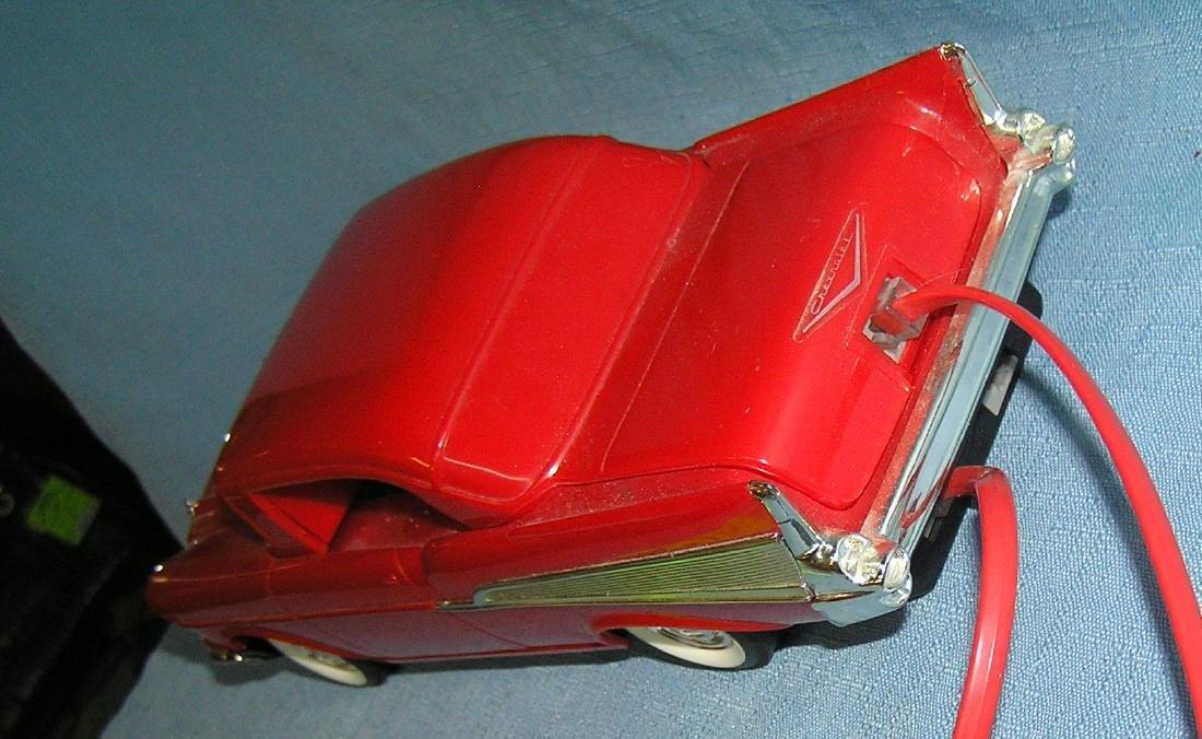 Vintage 1957 Chevrolet figural car shaped phone - 5