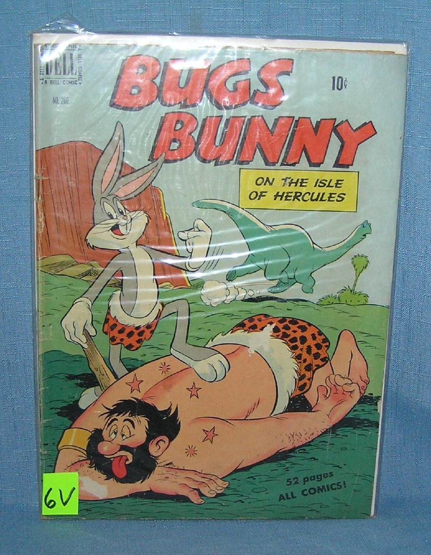 Early 10 cent Bugs Bunny comic book
