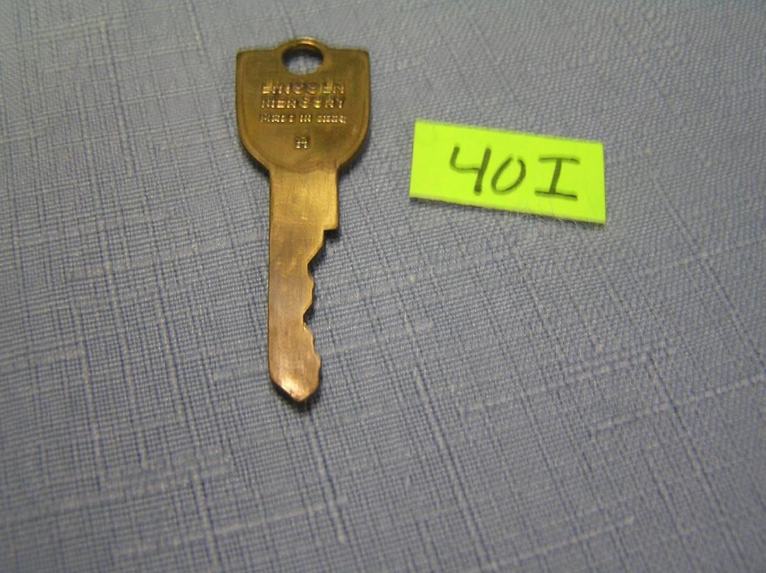 Early Lincoln Mercury car key