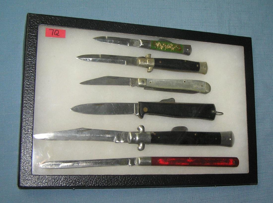 Collection of great vintage pocket knives