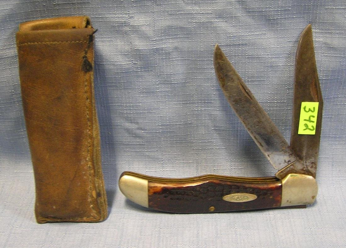 Antique Case bone handled pocket knife