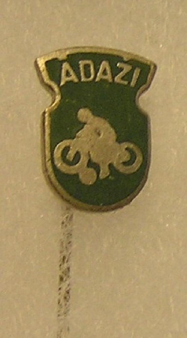 Vintage motorcycle stick pin