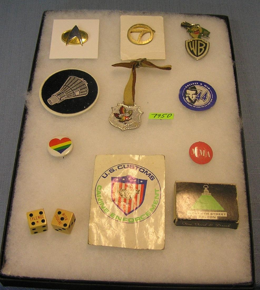 Group of advertising pieces and collectibles