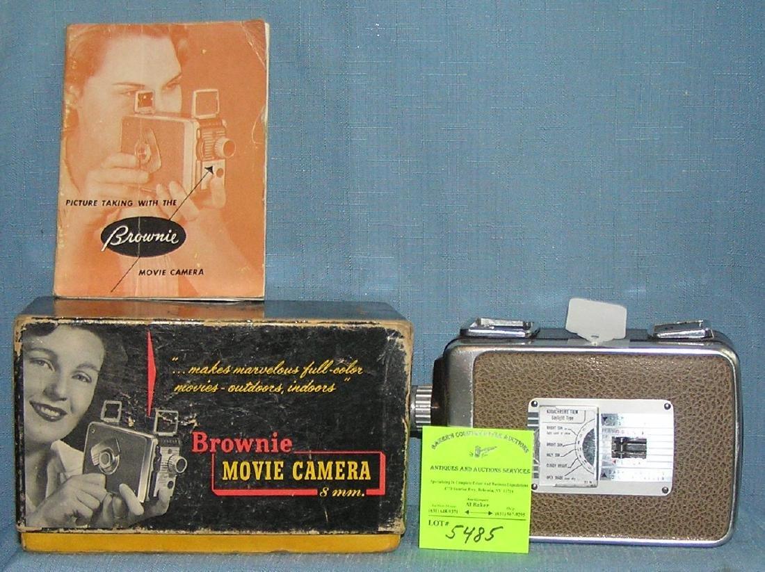 Vintage Kodak Brownie 8MM movie camera