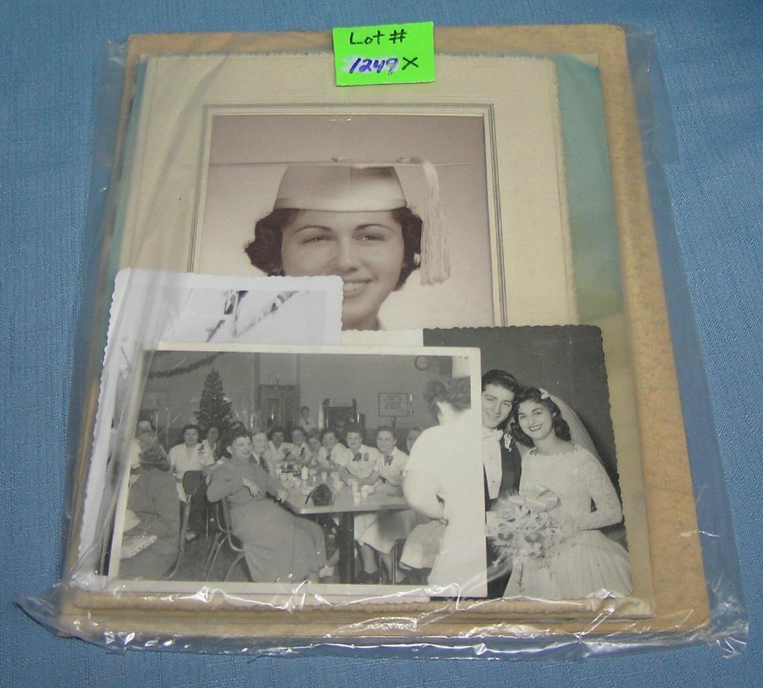 Bag of vintage photographs