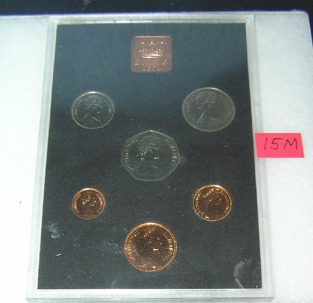 Coinage of Great Britain and Northern Ireland proof set - 2