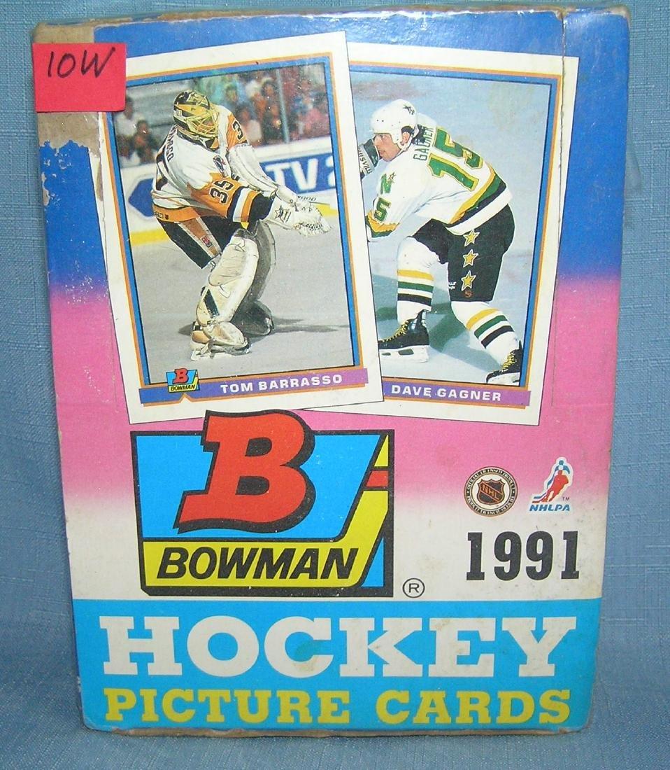 Bowman 1991 Hockey cards