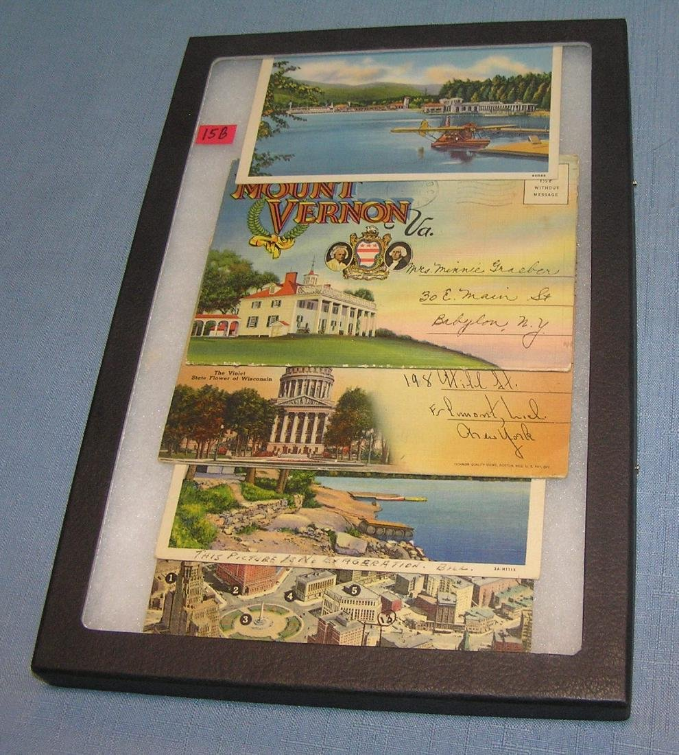 Group of early postcards