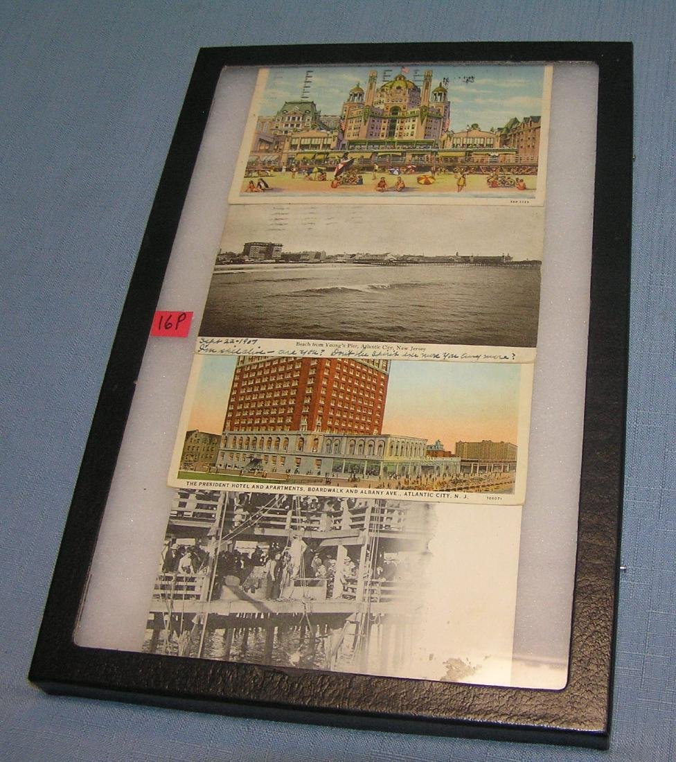 Group of early Atlantic City NJ postcards