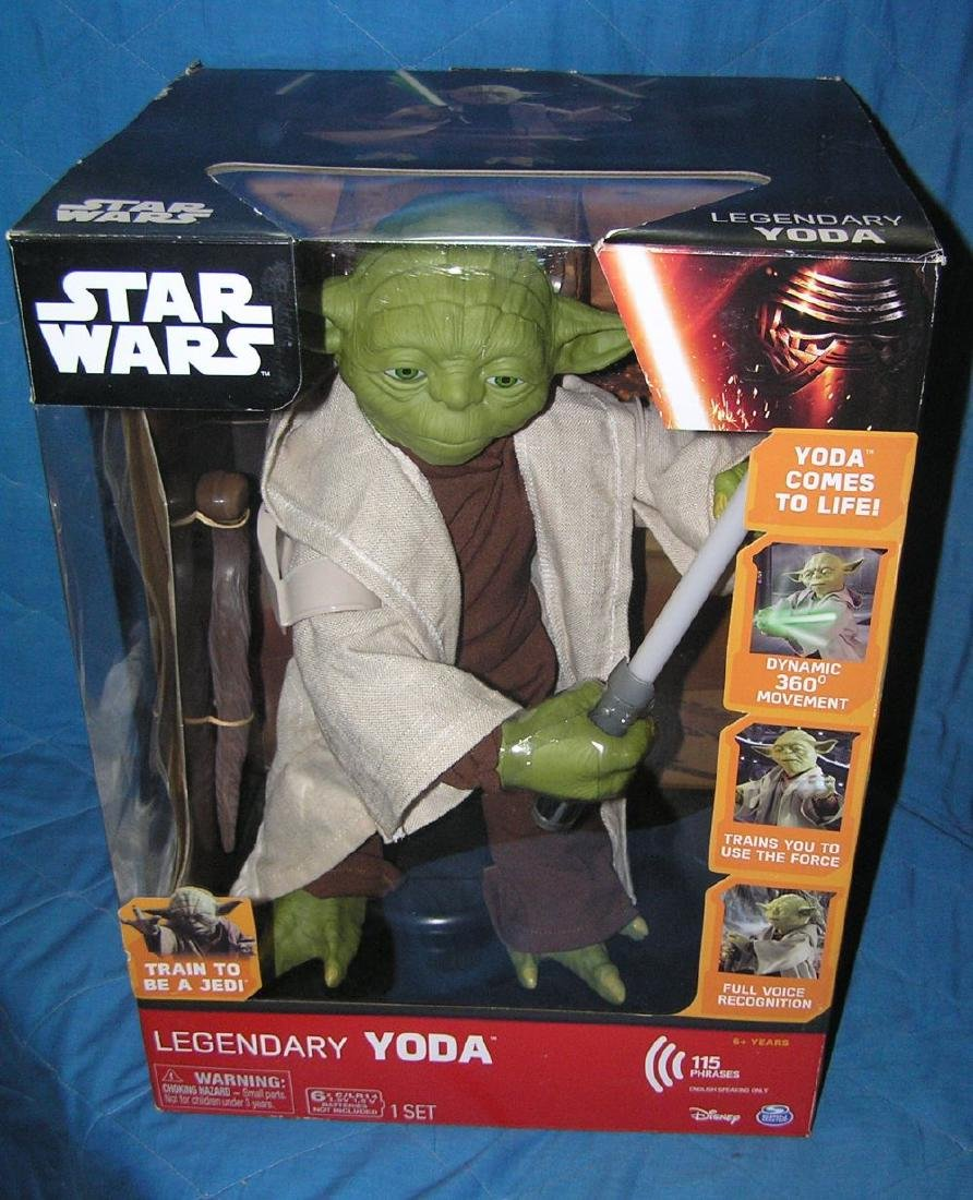 Star Wars oversized Yoda action figure