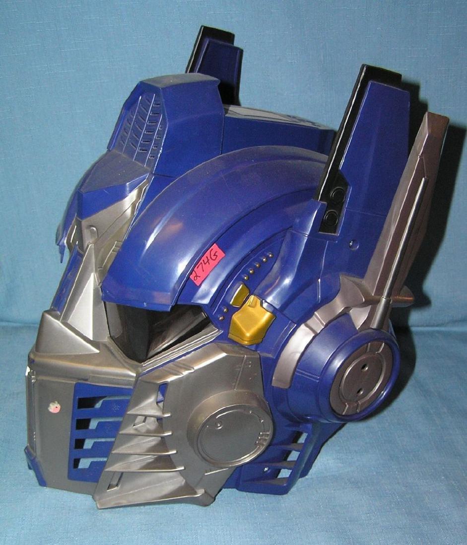 Power Rangers toy helmut