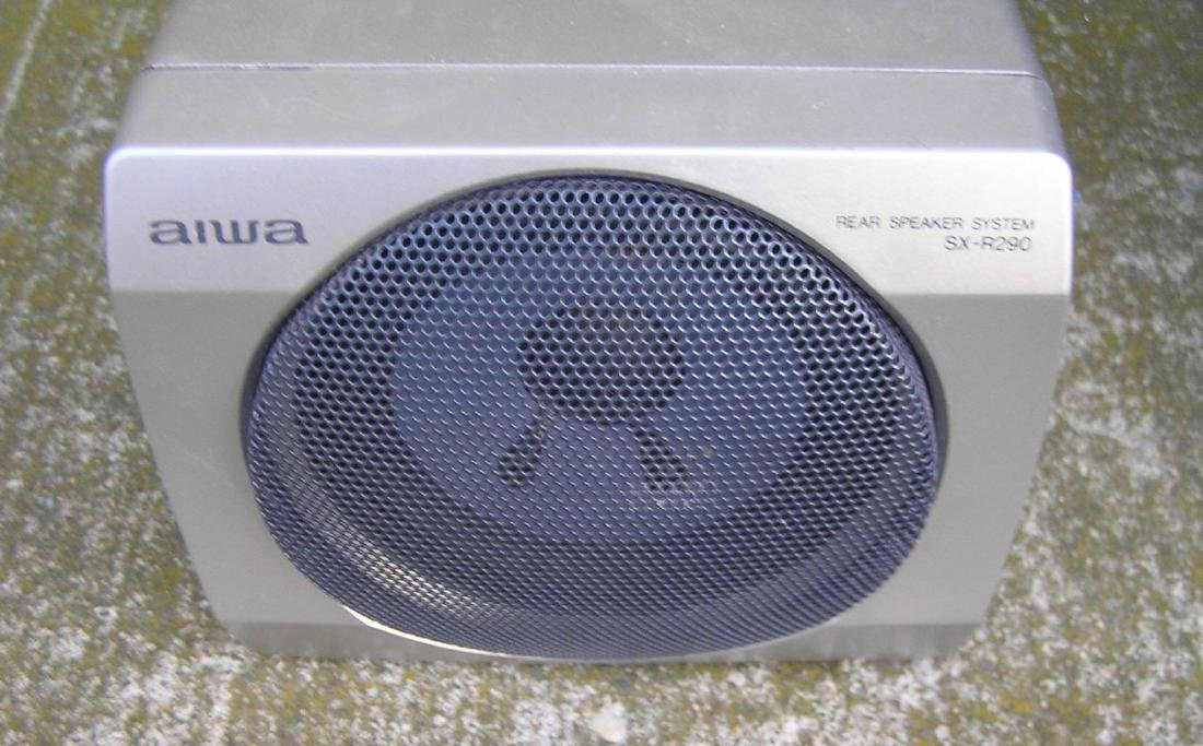 Complete Aiwa stereo system with surround sound - 4