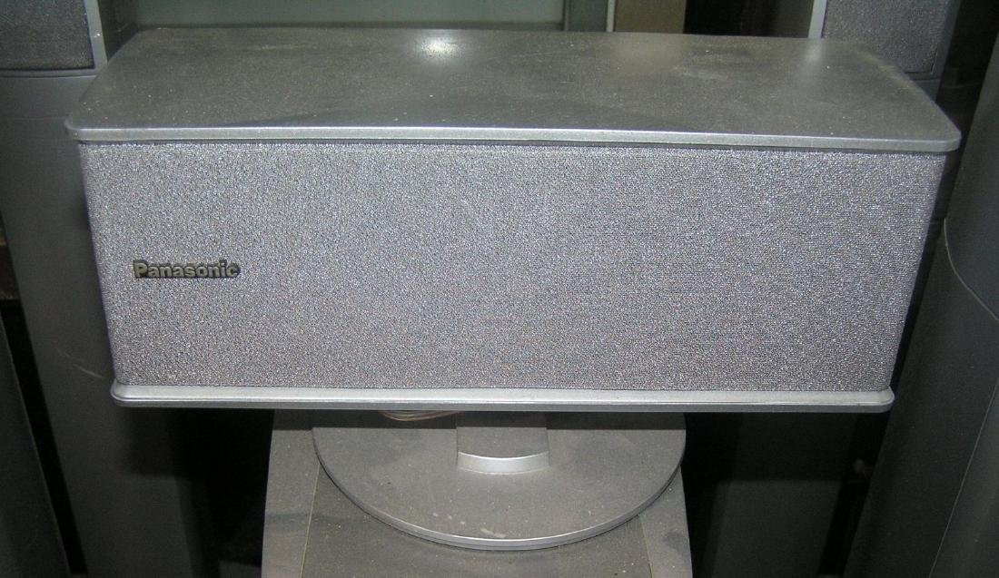 6 pc. Panasonic surround sound speaker system - 6