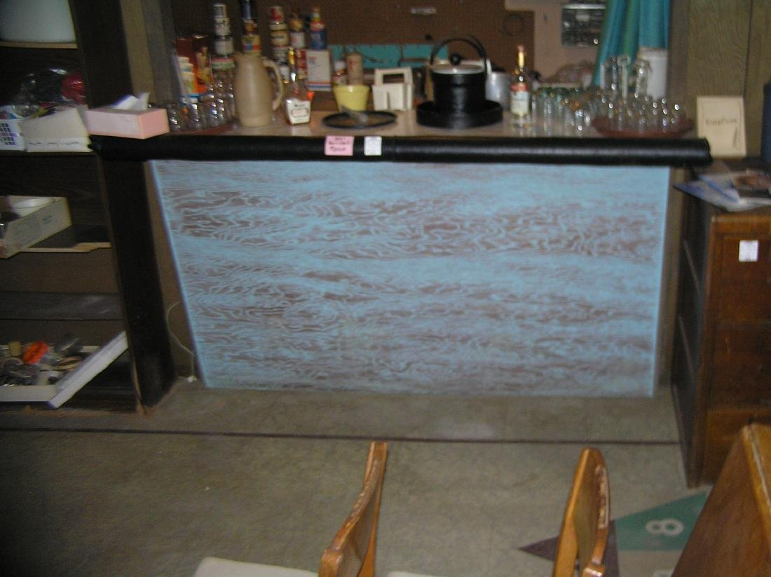 Great 1950's Mid Century Modern bar set - 2