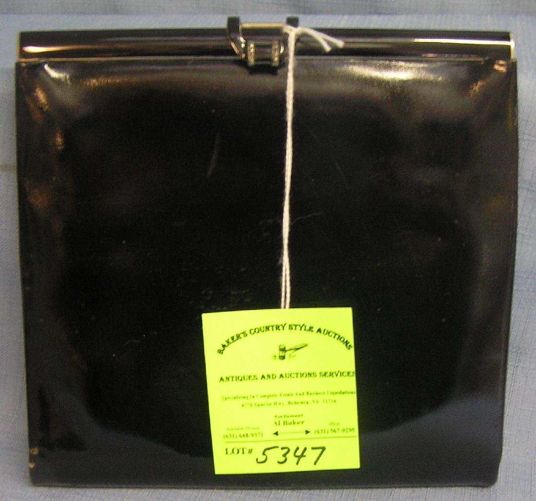 Vintage high quality designer leather handbag