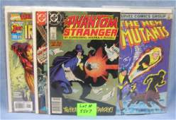 Group of 6 vintage Marvel DC first edition comic books