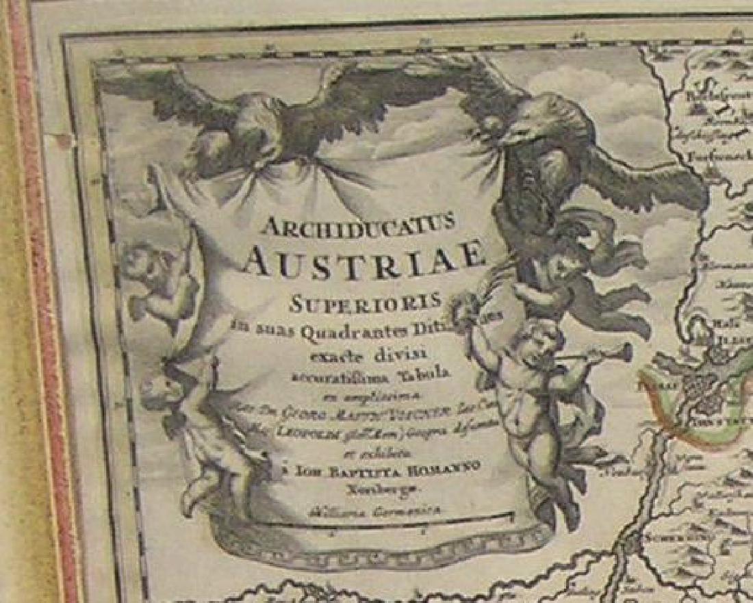 Antique map of Austria - 2