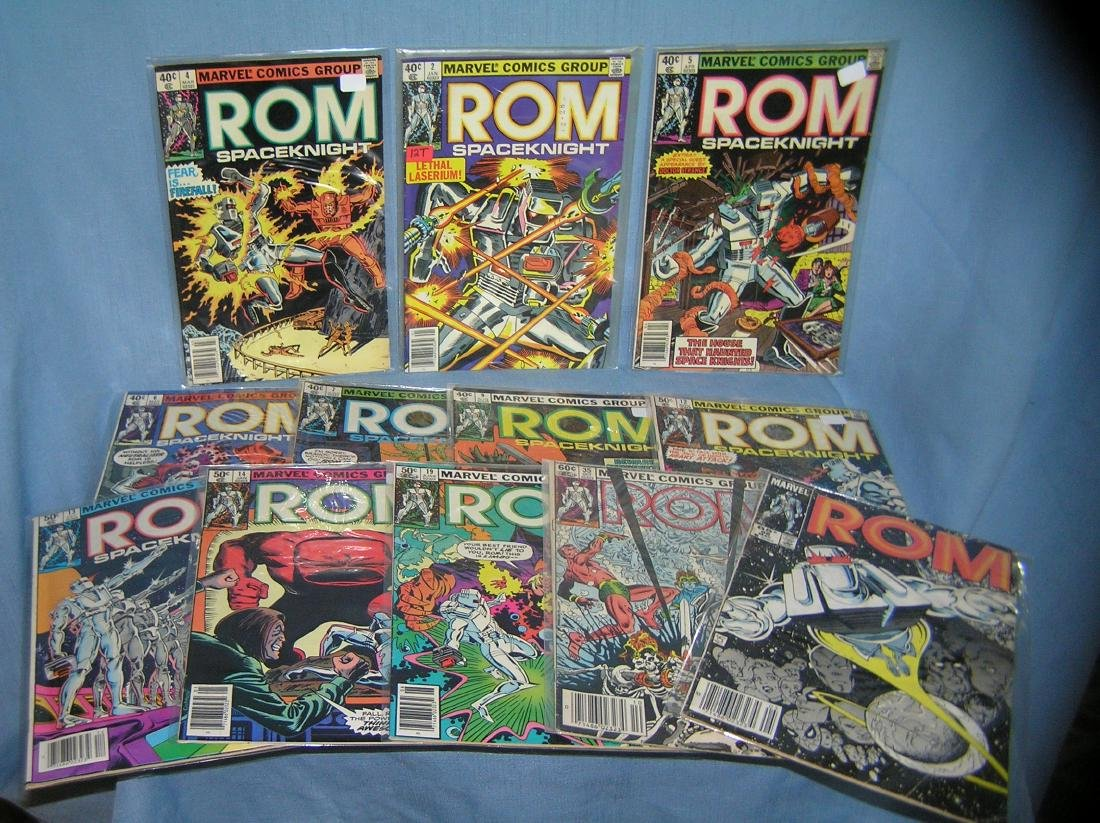 ROM comic book collection