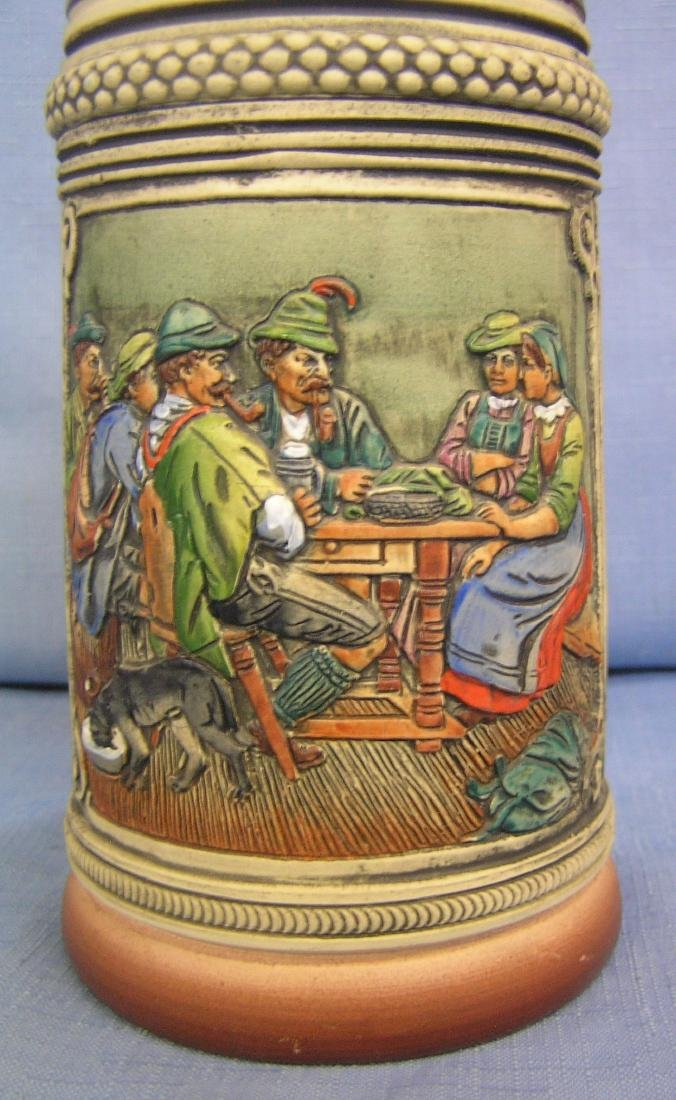 Group of 5 vintage beer steins - 3