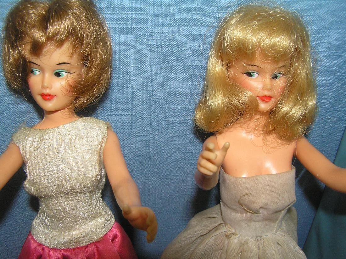 Barbie doll collection featuring 4 vintage dolls and - 3