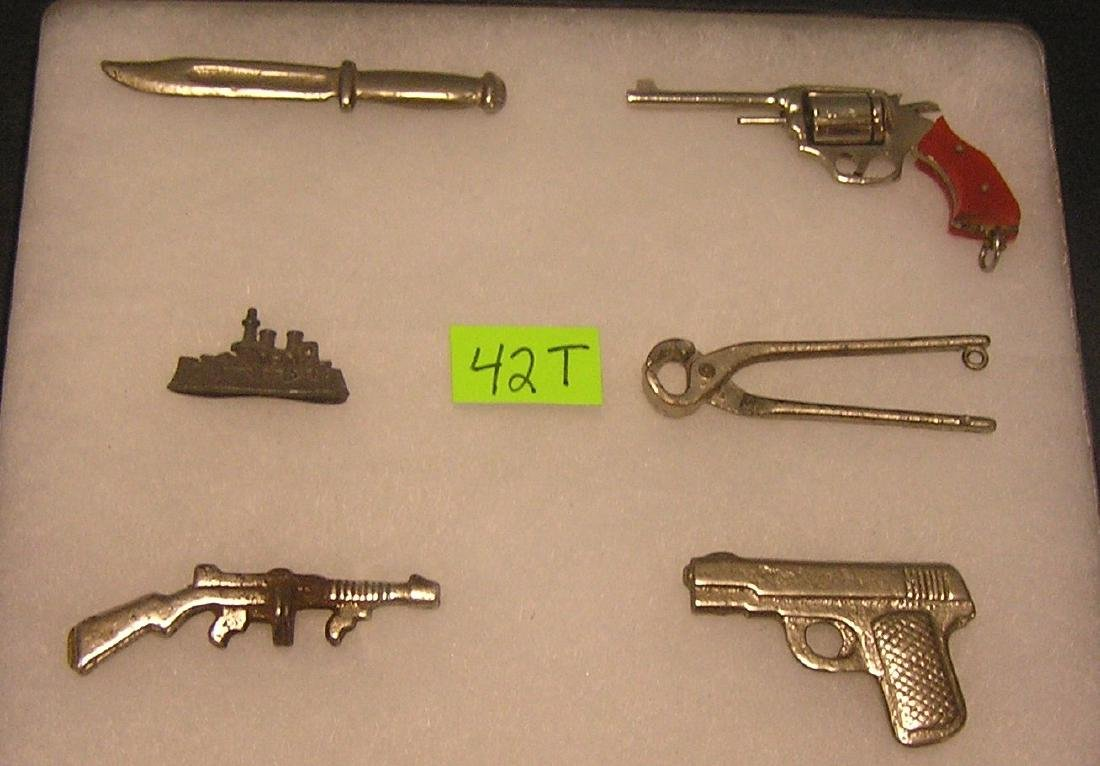 Miniature weapons, tools and more