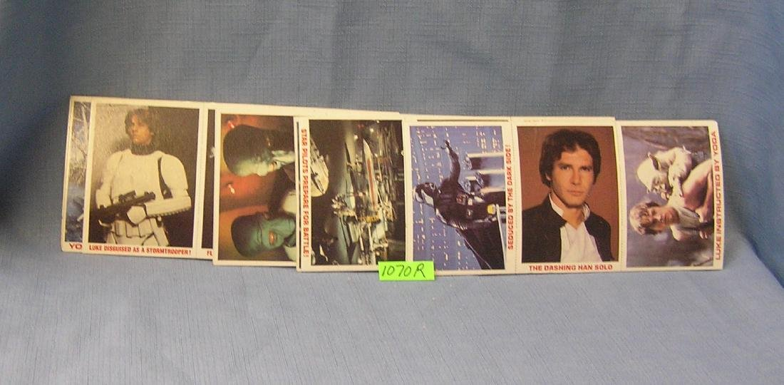 Mint Star Wars 36 card set of collector cards