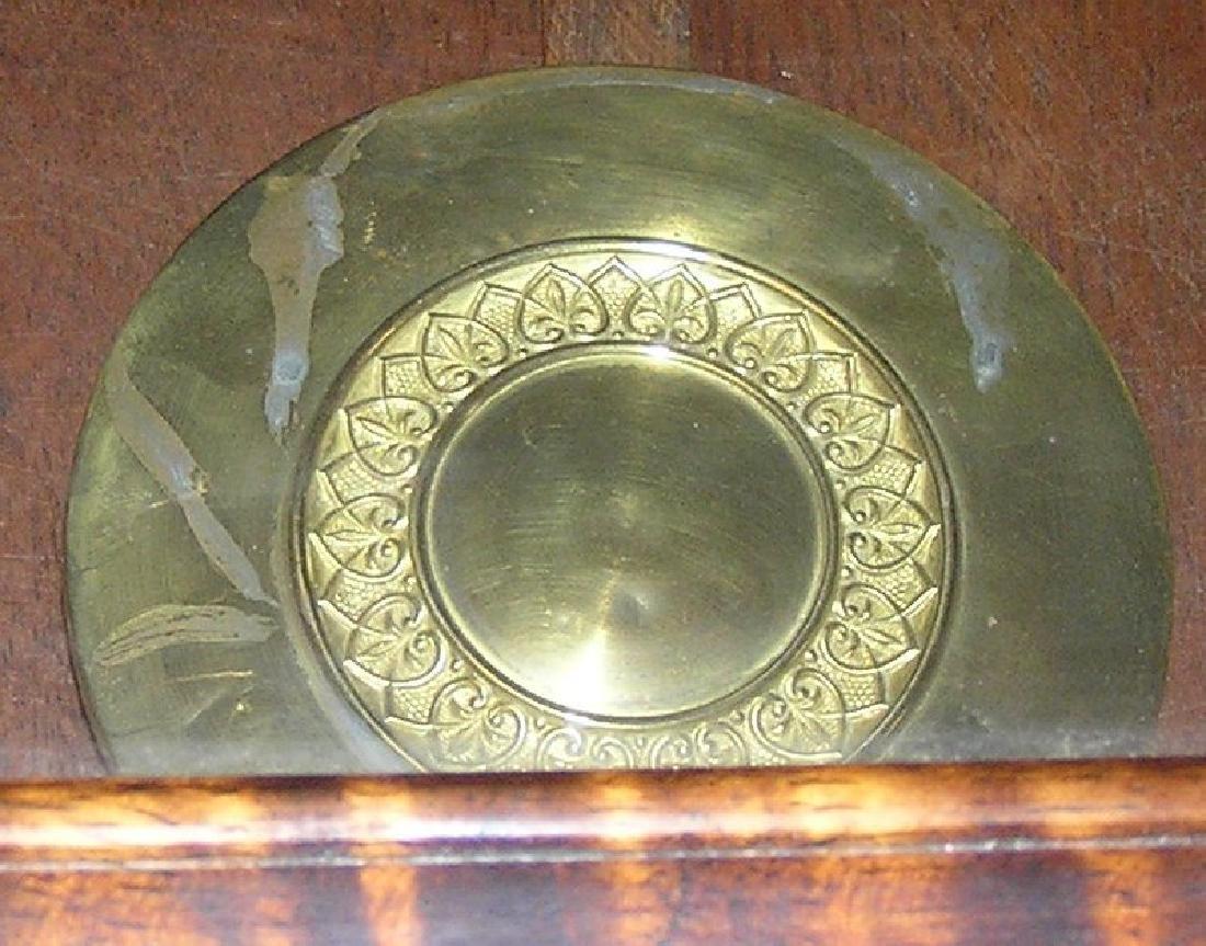 Great oak case regulator clock - 3