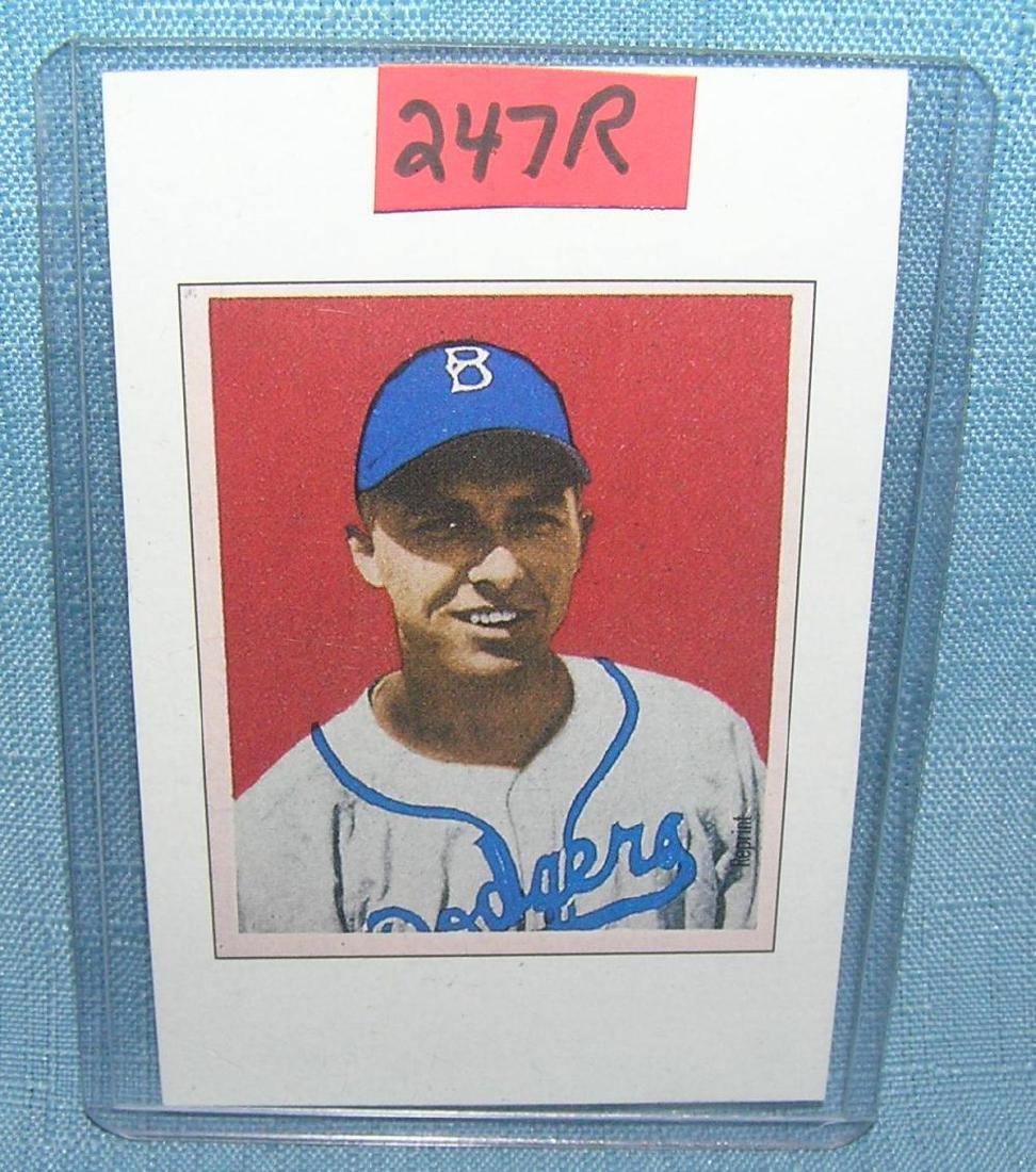 Gil Hodges Bowman Reprint Baseball Card Feb 03 2019