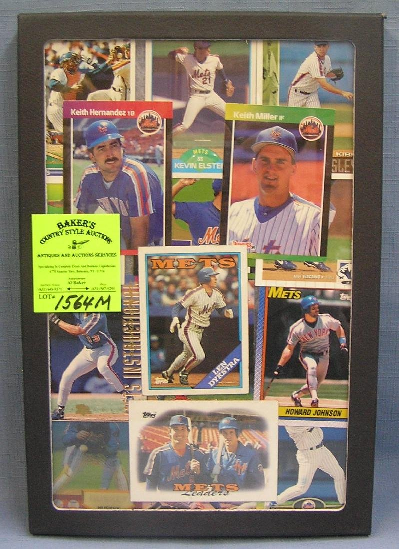 Group of NY Mets all star Baseball cards