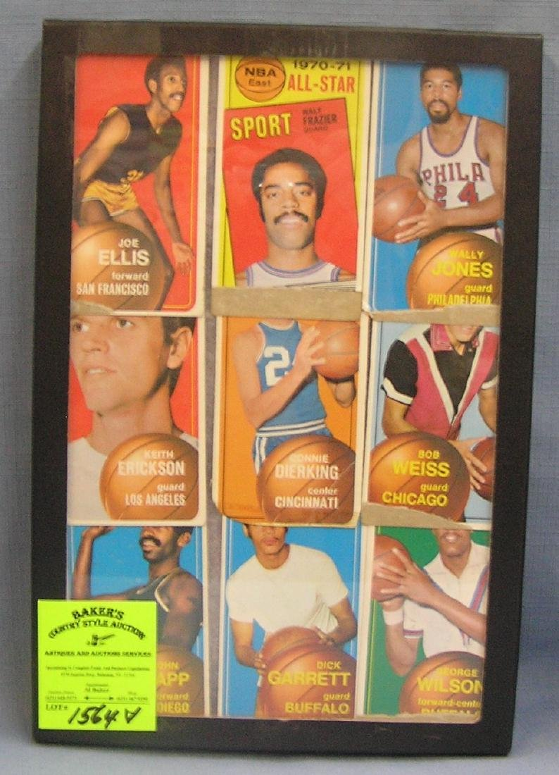 Group of Topps all star Basketball cards