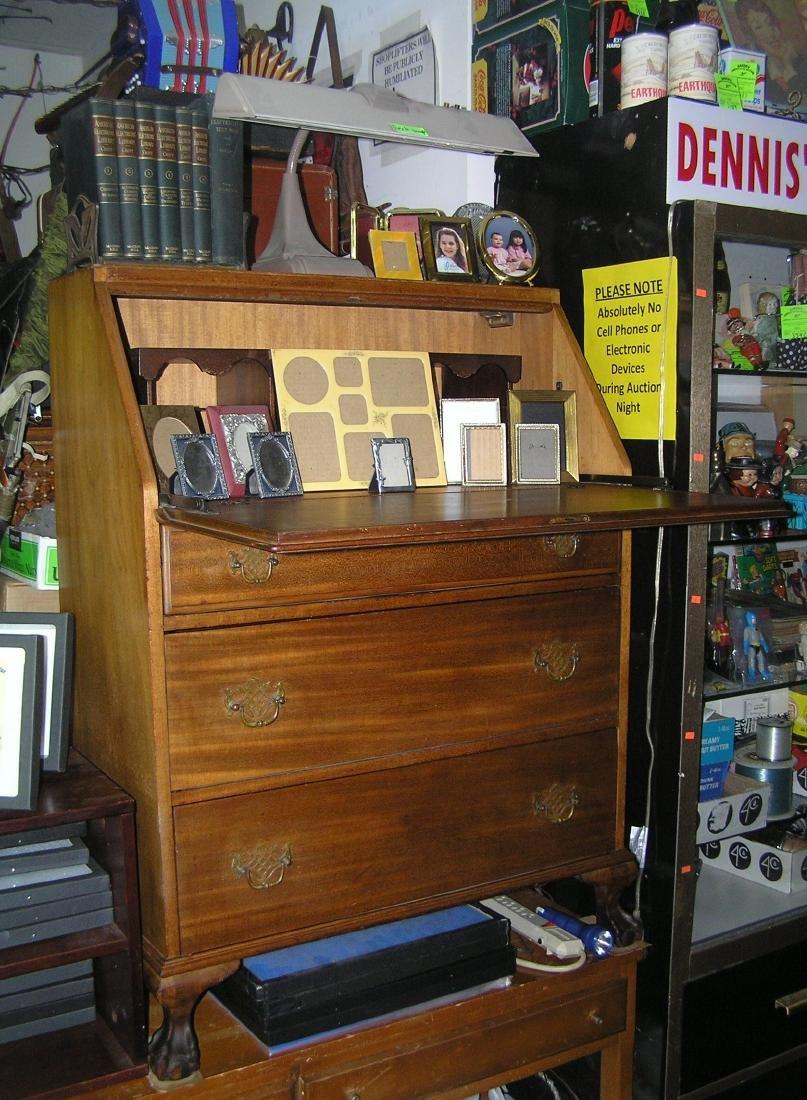 Antique Governor Winthrop drop front desk - 10