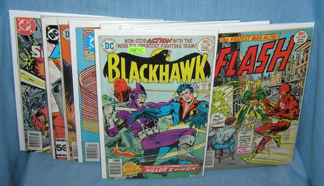 Vintage DC Superhero comic books and more