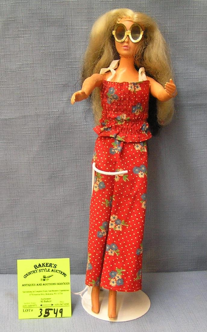 Great early vintage Barbie doll